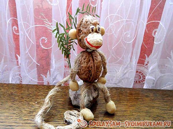 Ореховая обезьянка