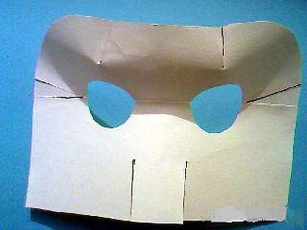 Как сделать маску кошки