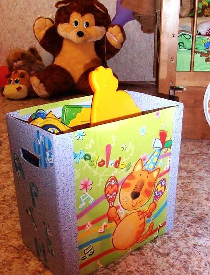 Делаем хранение для игрушек своими руками