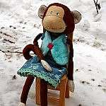 Шьем тильду обезьяну