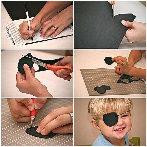 Как сделать костюм Пирата своими руками