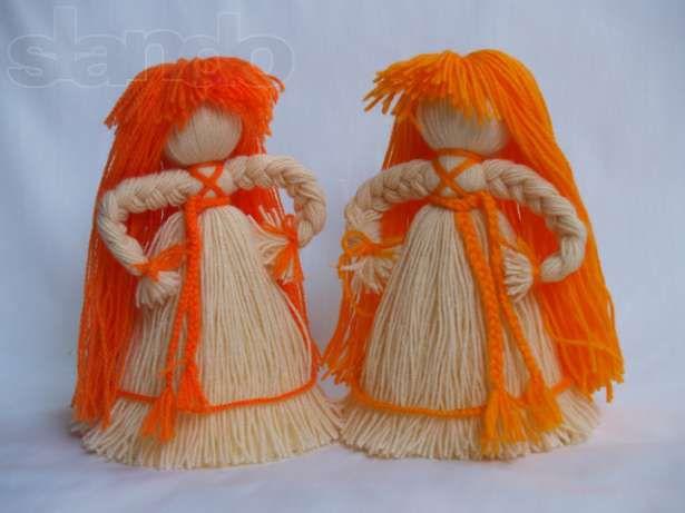 Как сделать куклу оберег из ниток