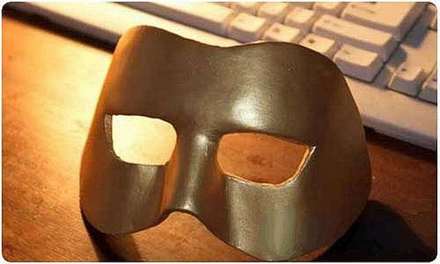 Как сделать маску из папье маше