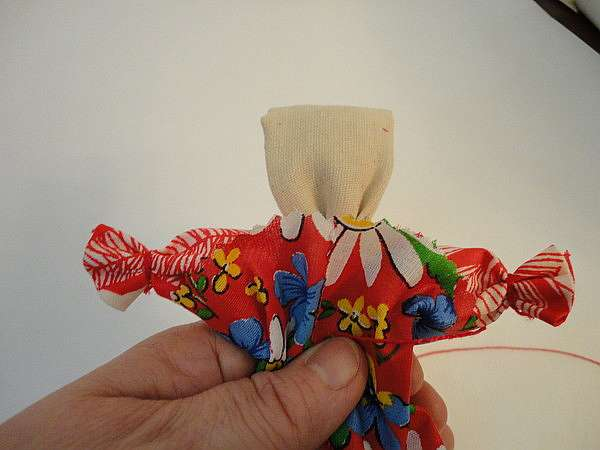 Делаем куклу Веснянку