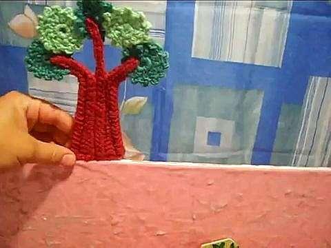 Делаем ширму и декорации для кукольного театра