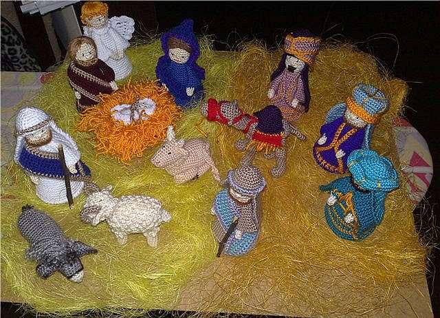 Рождественские вертепы своими руками