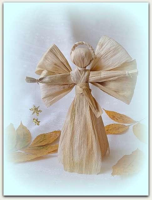 Ангелочки своими руками из разных материалов