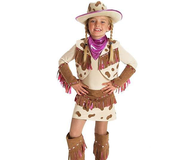 Наряд для девушки ковбоя