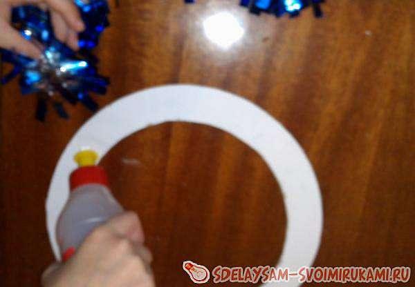 Изготовление Рождественского венка с детьми