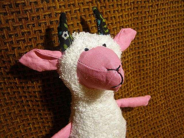Мягкая игрушка коза: мастер класс