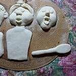 Кукла из соленого теста «Королева вечера» своими руками