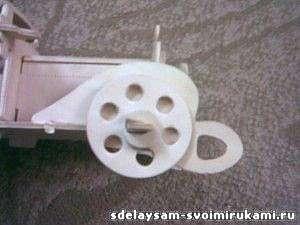 Модель автомобиля из фанеры