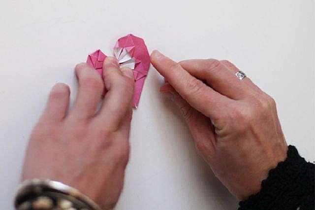 Как сделать оригами сердце