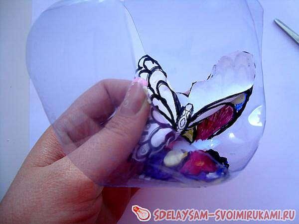 Витражная бабочка