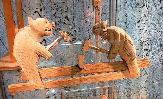 Деревянные игрушки своими руками