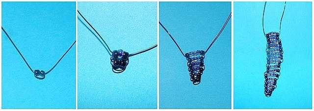 Игрушки насекомые из бисера