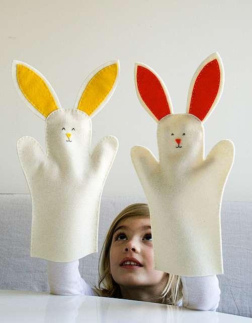 Перчаточная кукла своими руками