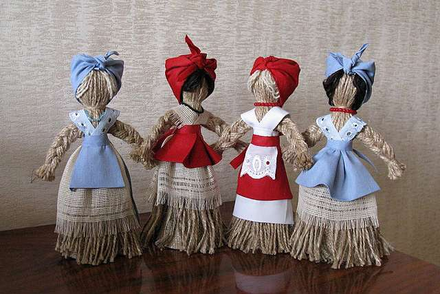 Кукла Берегиня Северная своими руками