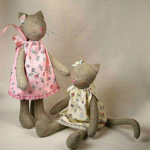 Ткань для кукол Тильда, из чего сшить?