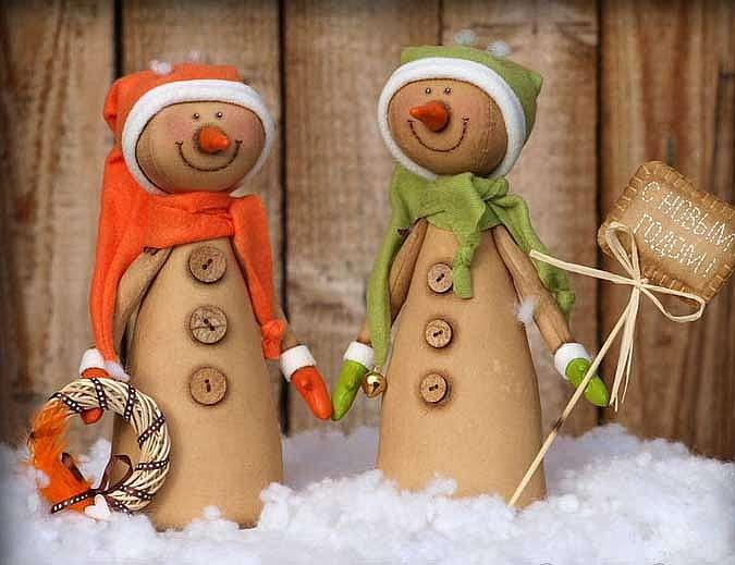 Снеговик Тильда к Рождеству