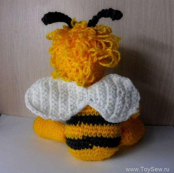 Пчёлка Майя крючком: мастер класс