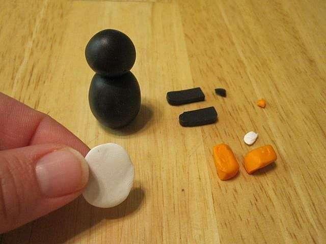 Как слепить пингвина из пластилина или глины