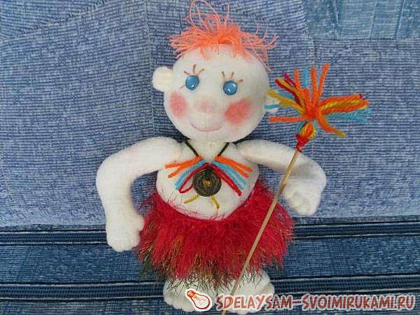 Кукла – индеец