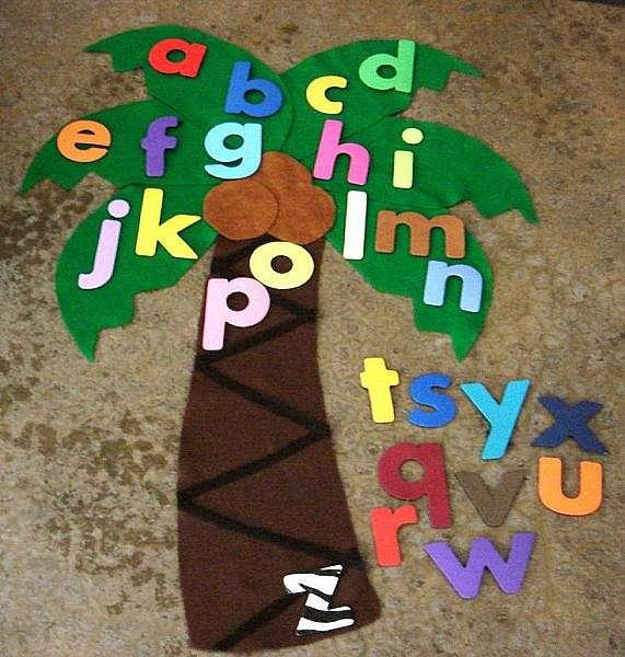 Как сшить мягкие буквы для детей