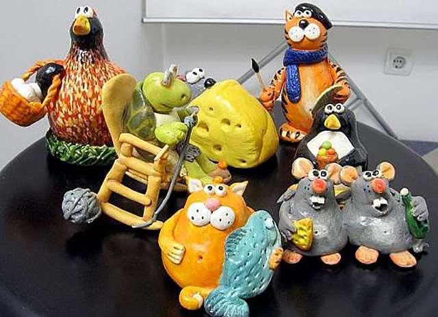Как сделать фигурки-игрушки из солёного теста