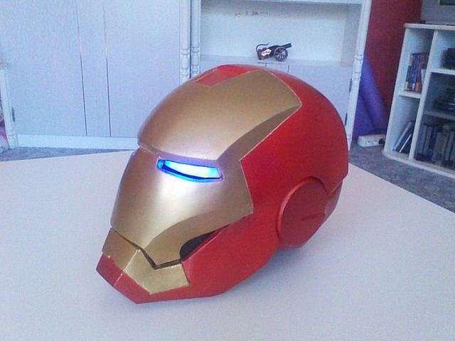 Как сделать шлем железный человека