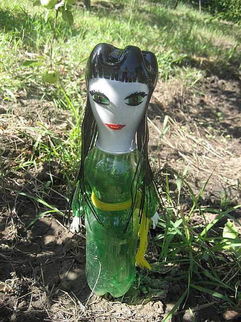Как делать игрушки из пластиковых бутылок