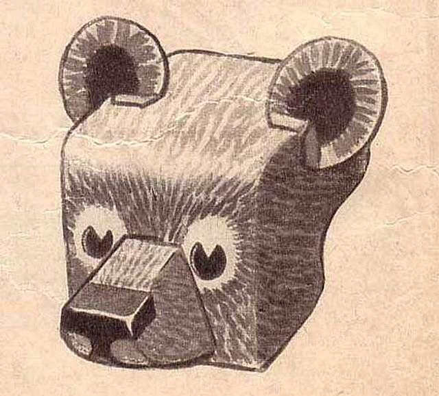 Делаем маски животных: волк, лиса, медведь, заяц