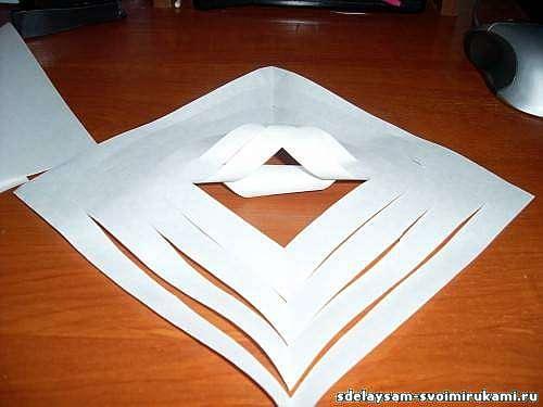 Объемные чудо-снежинки из бумаги