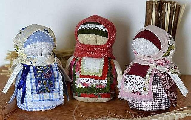 Текстильные куклы для души