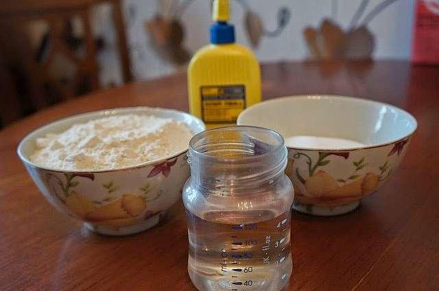 Как приготовить соленое тесто для лепки игрушек