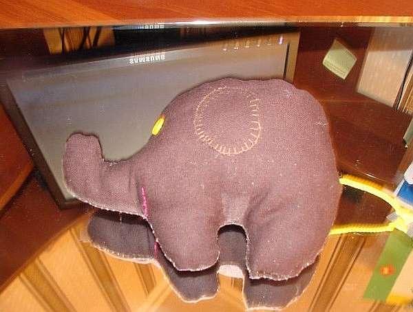 Шьем тильду слоника