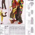 Как сделать красивый костюм клоуна