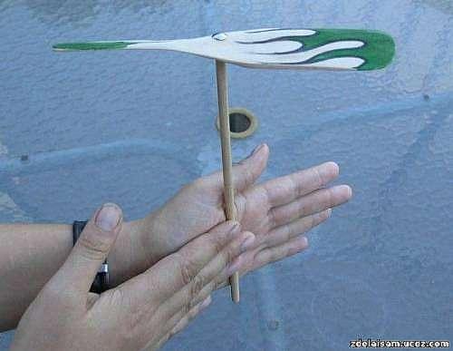 Летающий пропеллер