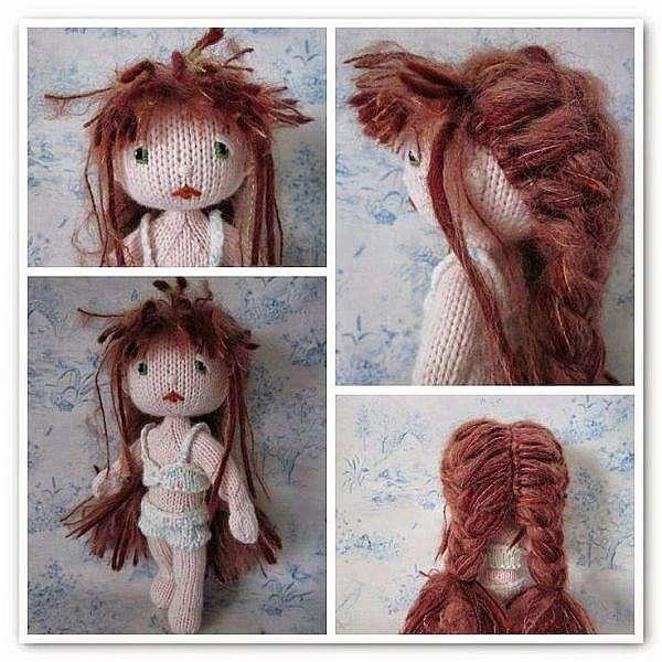 Как связать куклу спицами