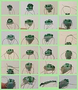 Как сделать из бисера крокодила