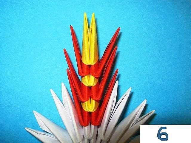 Снежинки оригами своими руками