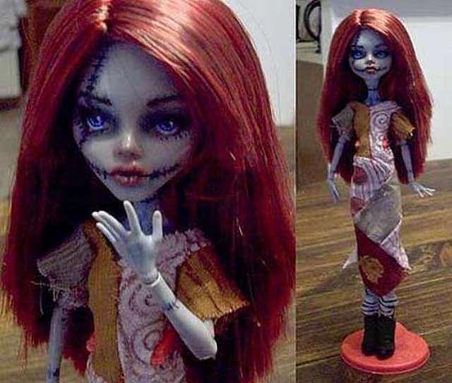 Как сделать куклу Монстр Хай
