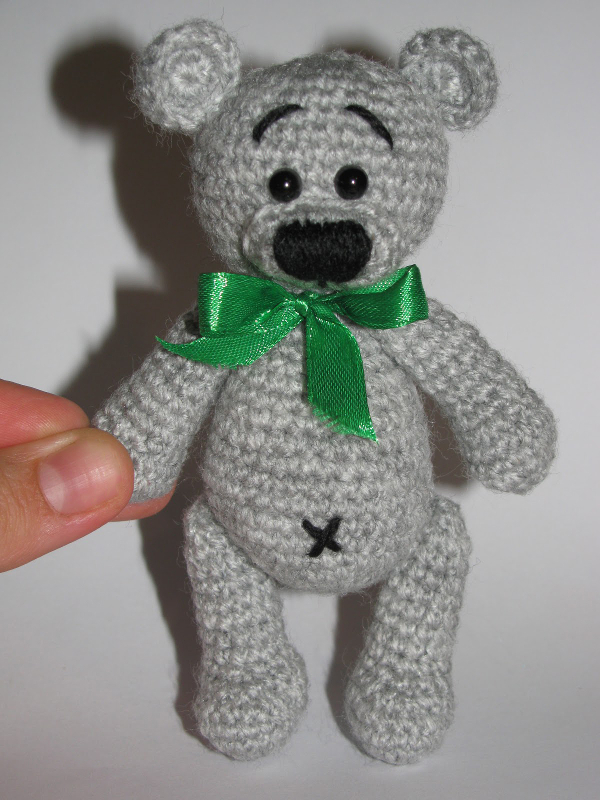 Как связать мишку Тедди крючком