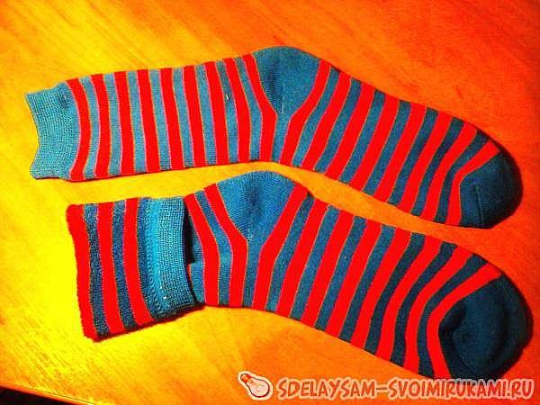 Обезьяна из носков