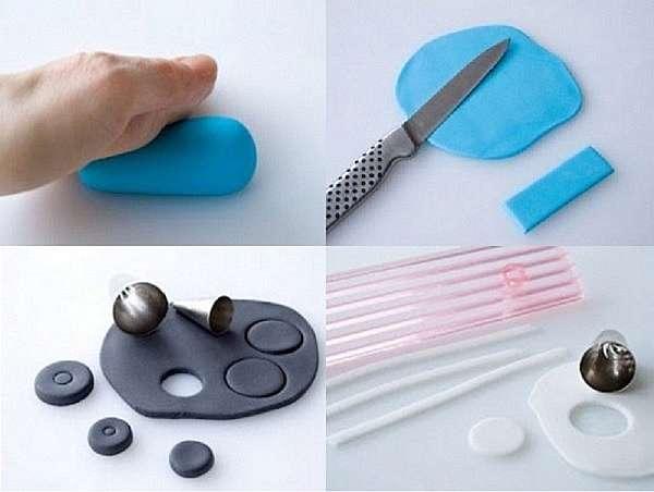 Как слепить машинку из пластилина или глины