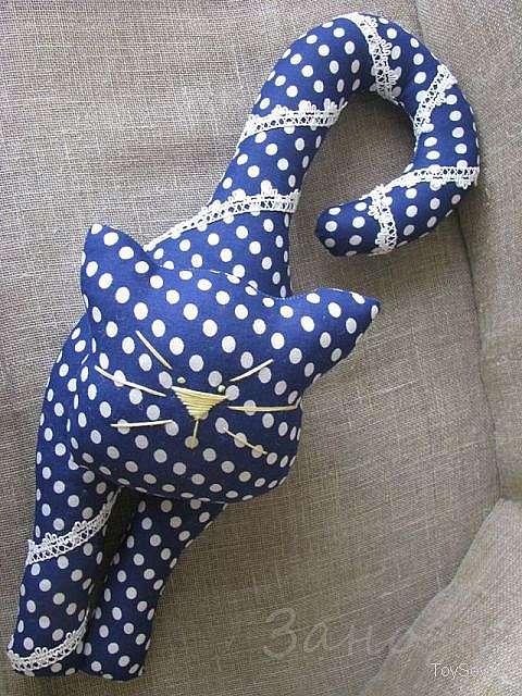 Подушка игрушка кот своими руками