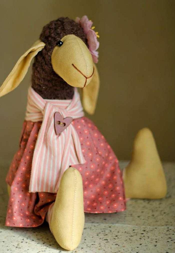 Шьем сами Тильду — овечку