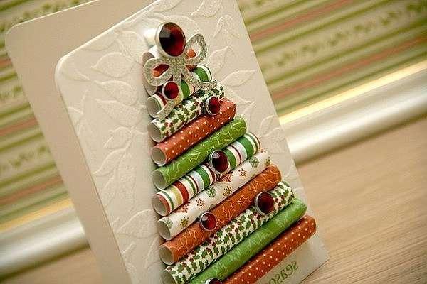 Открытки к Новому году и Рождеству своими руками