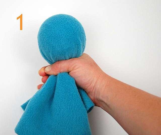 Шьем игрушки из флиса своими руками