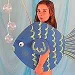 Костюм рыбки для девочки своими руками